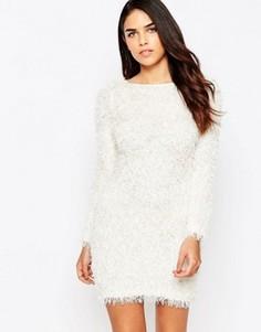 Платье-джемпер AX Paris - Кремовый