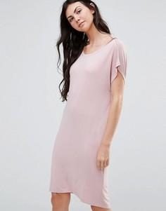 Платье миди Minimum Margareta - Розовый