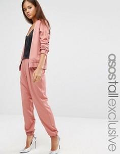 Комбинируемые брюки ASOS TALL - Красный