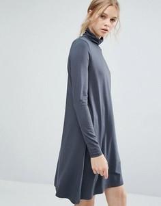 Платье-водолазка Vila - Серый