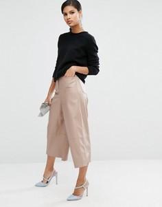 Юбка-брюки из искусственной кожи ASOS Premium - Мульти