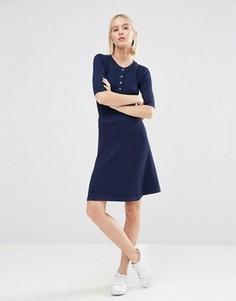 Пышная юбка ADPT - Темно-синий