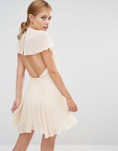 Платье мини Keepsake Come Back - Кремовый