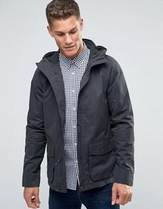 Темно-серая парусиновая куртка с капюшоном Jack Wills - Серый