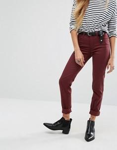 Зауженные джинсы Noisy May Lucy - Коричневый