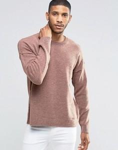Джемпер с отделочными швами ASOS - Розовый