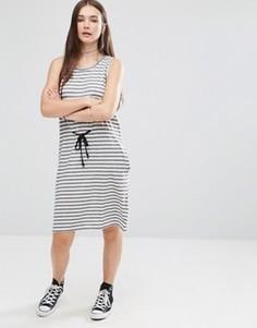 Платье в полоску Cheap Monday Collapse - Белый