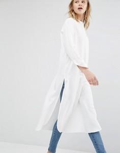 Свободная рубашка Dr Denim - Белый