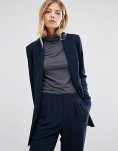 Удлиненный блейзер Vero Moda - Темно-синий