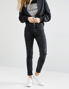 Облегающие джинсы Calvin Klein Insta Body - Черный