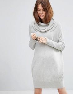 Платье-джемпер для дома со свободным воротом ASOS - Серый
