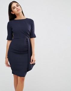 Платье со сборками Vesper - Темно-синий