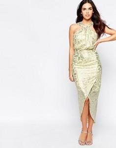 Платье VLabel Royal - Желтый