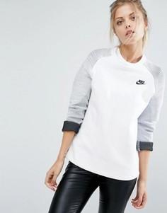 Свитшот с круглым вырезом Nike Premium - Белый