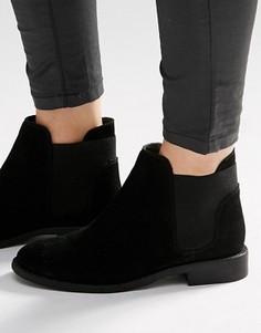 Замшевые ботинки челси ASOS AMERICAN - Черный