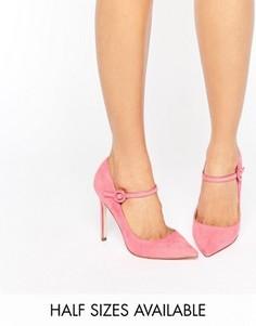Туфли с острым носком ASOS PRIMA - Розовый