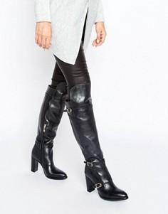 Ботфорты на каблуке Tommy Hilfiger Gigi Hadid - Черный
