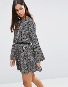 Платье с принтом пейсли Brave Soul - Мульти