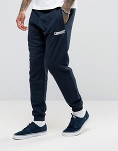 Спортивные штаны Carhartt WIP - Темно-синий