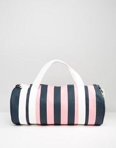 Сине-розовая сумка в полоску Jack Wills Ledbrook - Мульти