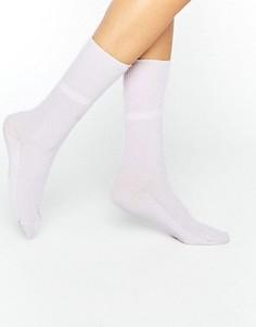 Розовые кашемировые носки Johnstons of Elgin - Розовый