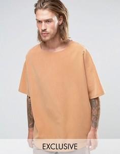 Oversize-футболка из купро Reclaimed Vintage - Stone