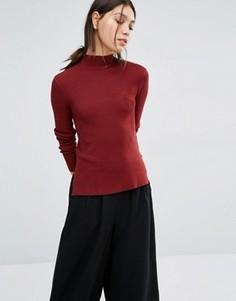 Джемпер с высокой горловиной Vero Moda - Красный
