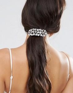 Заколка для волос с камнями ASOS Winter - Прозрачный