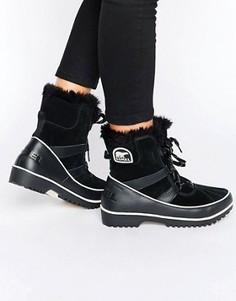 Ботинки на шнуровке Sorel Tivoli II - Черный