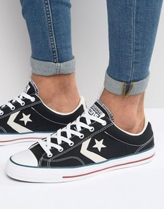 Черные кроссовки Converse Star Player 144145C - Черный