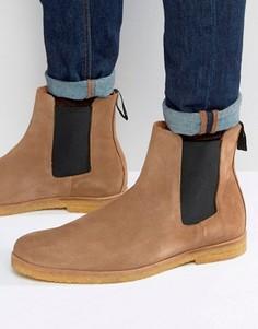 Замшевые ботинки челси Religion - Бежевый