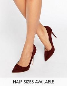 Туфли на высоком каблуке с острым носком ASOS PERU - Коричневый