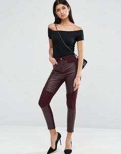 Облегающие брюки со вставками спереди ASOS - Мульти
