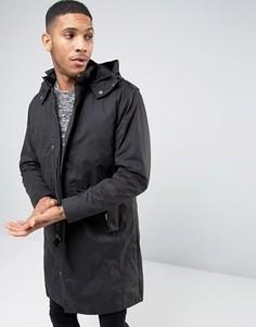Парка со съемной курткой-пилот Selected Homme Premium - Черный