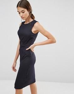 Облегающее платье в полоску Y.A.S Element - Черный