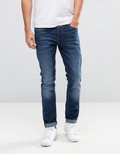 Эластичные джинсы слим Jack & Jones Intelligence - Синий