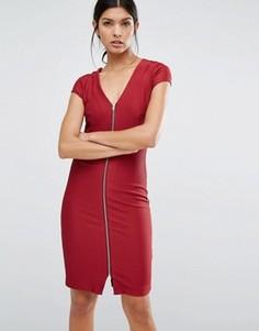 Платье на молнии Y.A.S - Красный