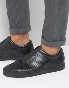 Кроссовки с эффектом змеиной кожи Religion - Черный