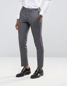 Зауженные брюки Burton Menswear - Серый