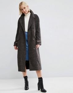 Пальто в клетку ASOS - Мульти