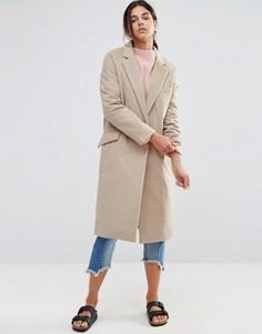 Длинное легкое пальто Native Youth - Бежевый