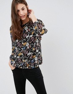 Блузка с цветочным узором Brave Soul - Мульти