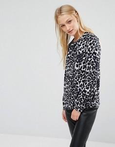Блузка с леопардовым принтом Newlily - Мульти