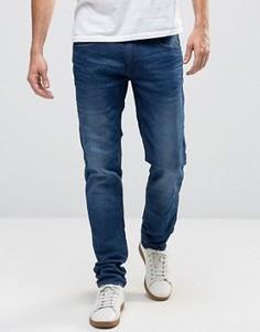Синие джинсы слим Blend Twister - Синий