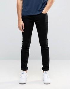 Черные облегающие джинсы из эластичного денима Only & Sons - Черный