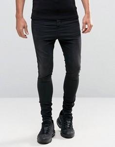 Черные джинсы скинни Illusive London Hareem - Черный