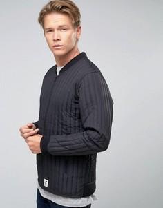 Стеганая куртка‑пилот Fat Moose Lumber - Черный