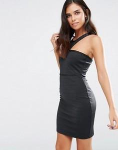 Бандажное облегающее платье Love & Other Things - Черный
