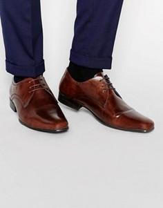 Строгие туфли на шнуровке Red Tape - Коричневый