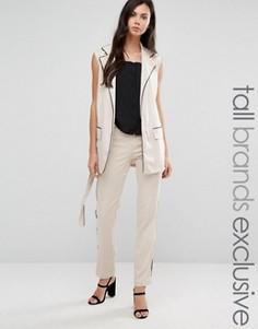Пижамные штаны слим Alter Tall - Серый